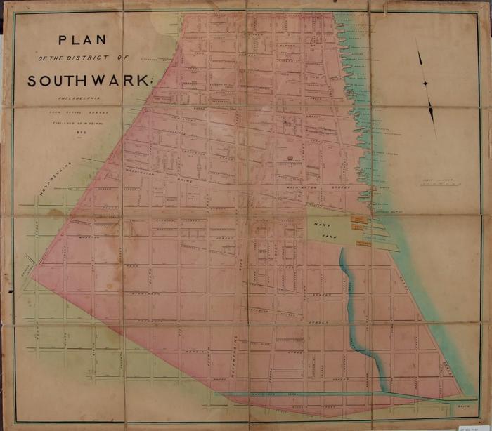Southwark Map
