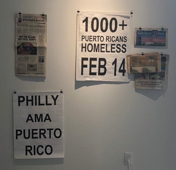 Taller art installation